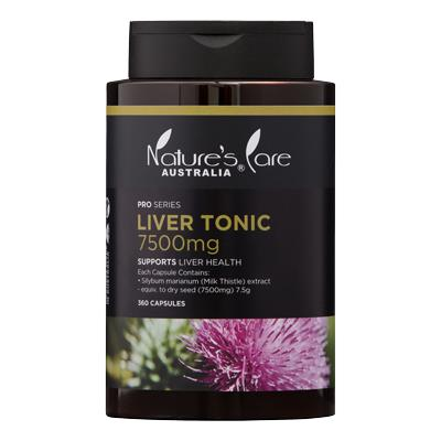 Nature's Care Pro Series Liver Tonic 7500mg Cap X 360