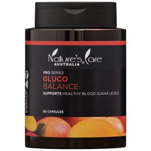 Nature's Care Pro Series Gluco Balance Cap X 90