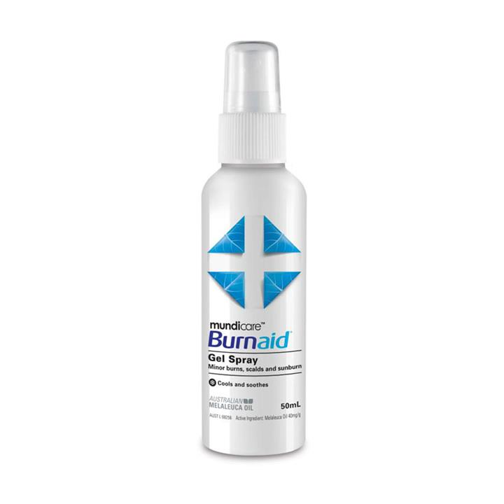 Mundicare Burnaid Gel Spray 50ml