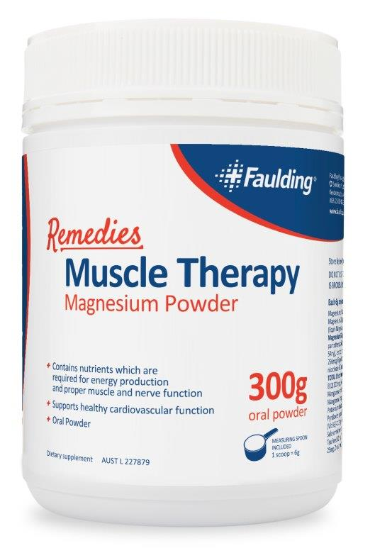 Faulding Remedies Muscle Therapy 300g