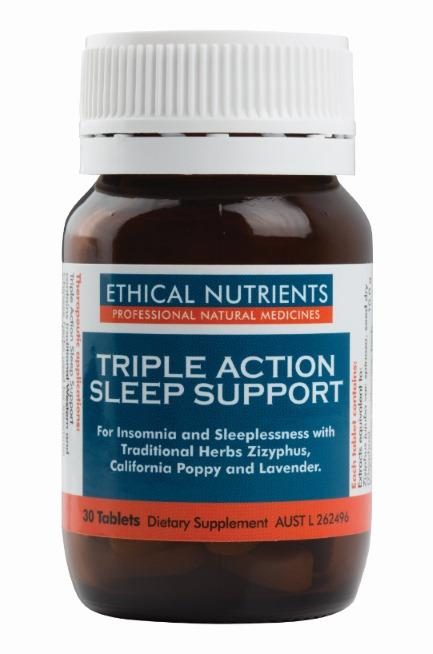 Ethical Nutrients Triple Action Sleep Support Tab X 30