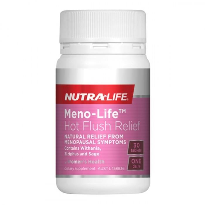 Nutralife Meno-Life Hot Flush Relief Tab X 30