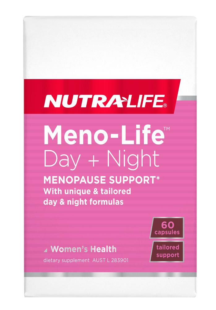 Nutralife Meno-Life Day + Night Cap X 60