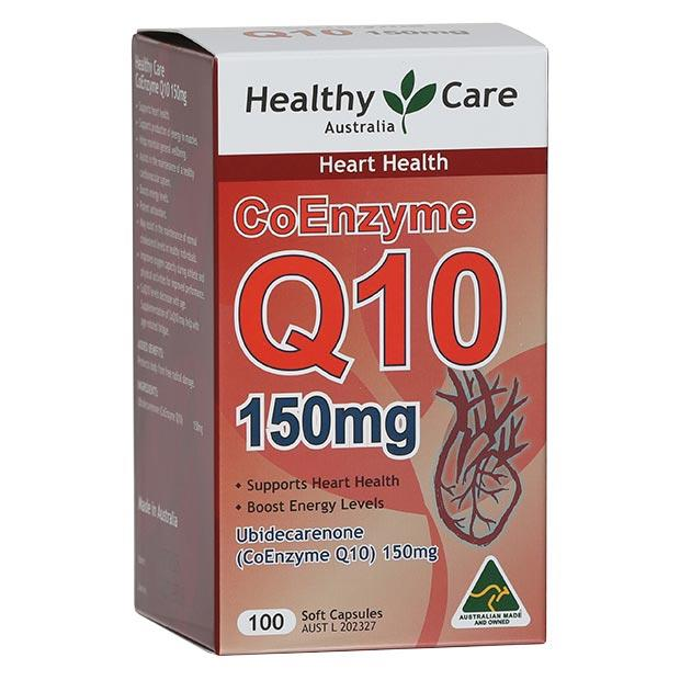 Healthy Care CoEnzyme Q10 150mg Cap X 100