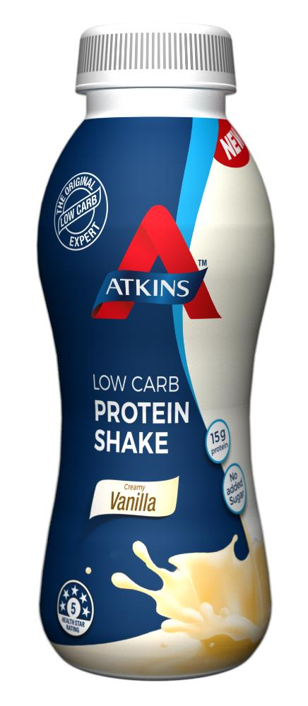 Atkins Ready To Drink Shake (Vanilla) 330ml X 6