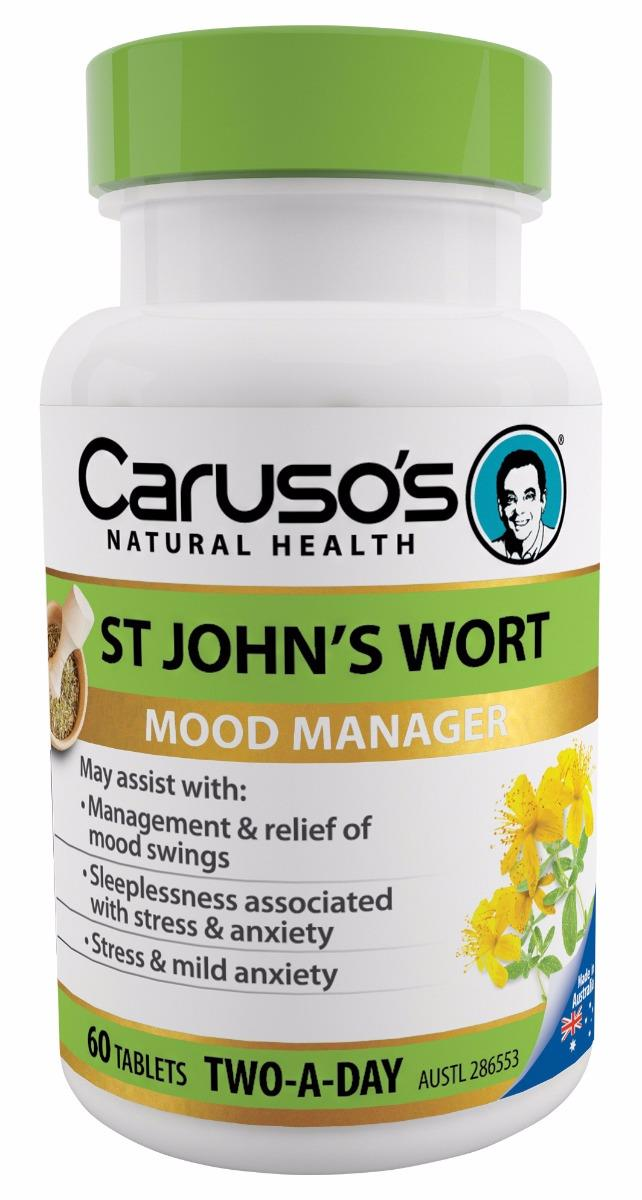 Caruso's Natural Health St Johns Wort Tab x 60