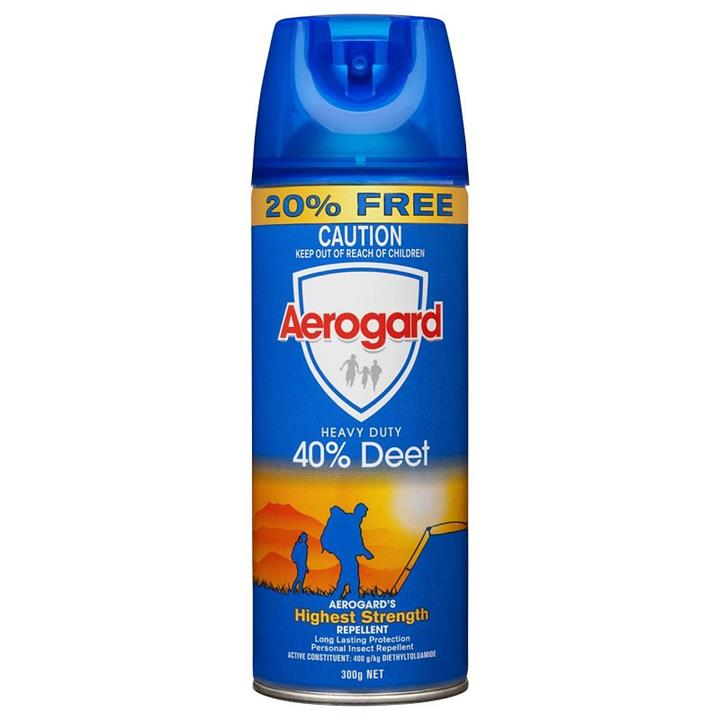 Aerogard Heavy Duty 40% Deet Insect Repellent Spray 300g