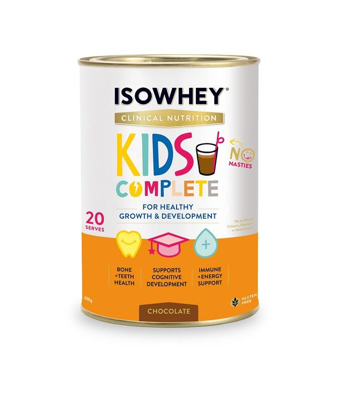 IsoWhey Clinical Nutrition Kids Complete – Chocolate 600g