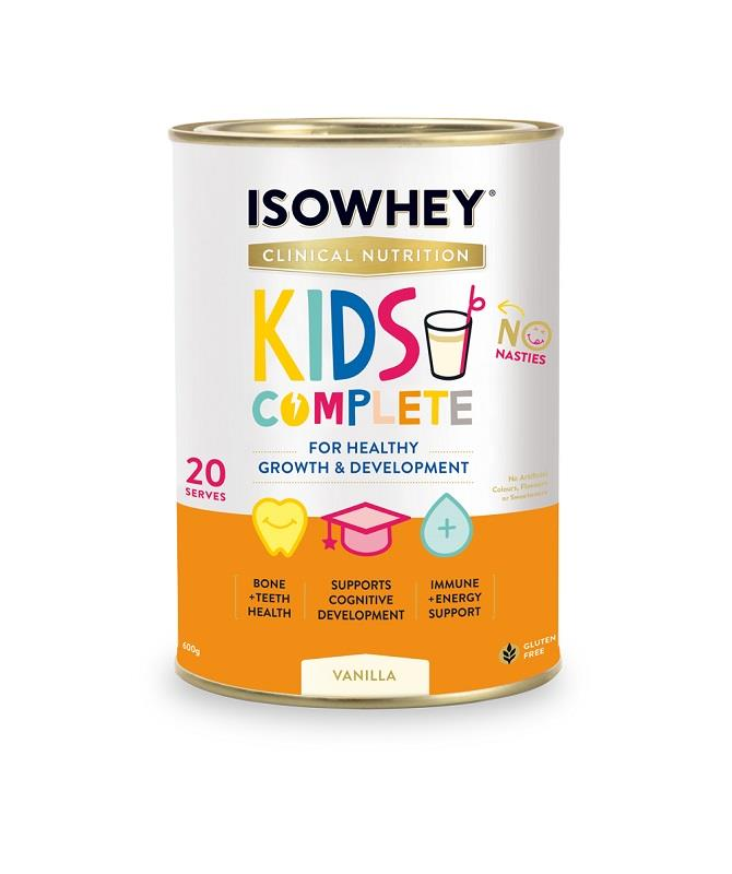 IsoWhey Clinical Nutrition Kids Complete – Vanilla 600g