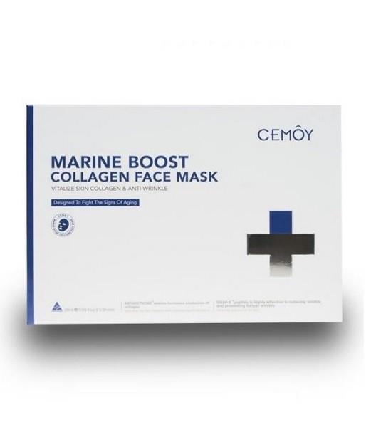 CEMOY Marine Boost Collagen Face Mask Sheets X 5