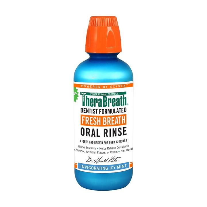 Brauer TheraBreath Icy Mint Oral Rinse 473ml