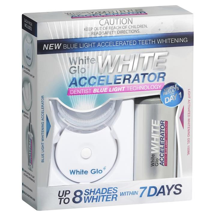 White Glo White Accelerator Blue Light Teeth Whitening System