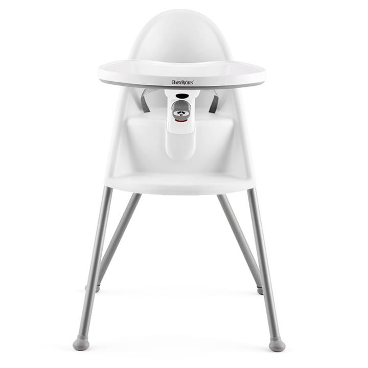 BabyBjorn High Chair - White/Grey