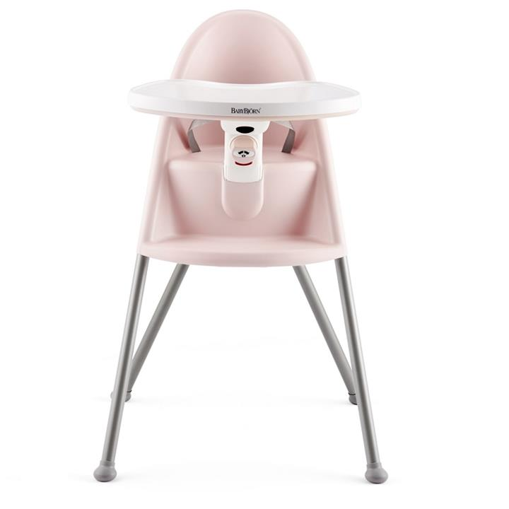 BabyBjorn High Chair - Powder Pink/Grey