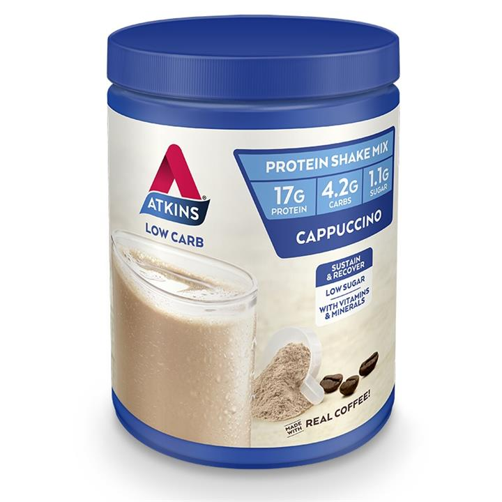 Atkins Protein Shake Mix Cappuccino 320g