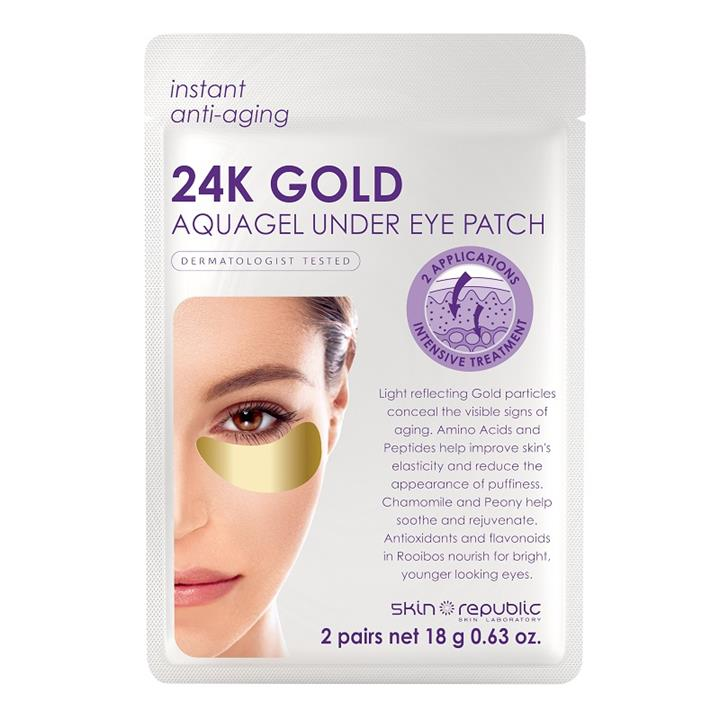 Skin Republic 24K Gold Aquagel Under Eye Patch (2 Pairs)