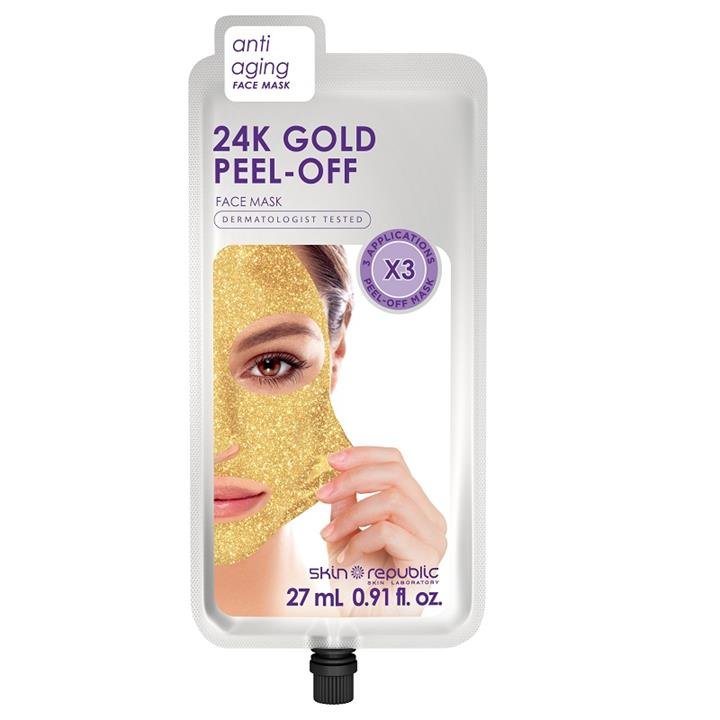 Skin Republic 24K Gold Peel - Off Face Mask (3 Applications)