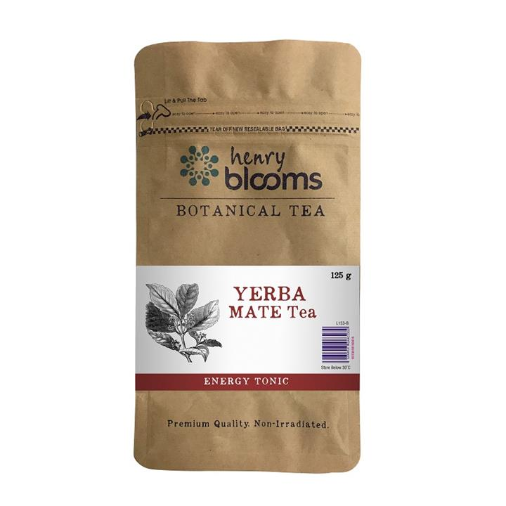 Henry Blooms Botanical Tea Yerba Mate Tea 125g