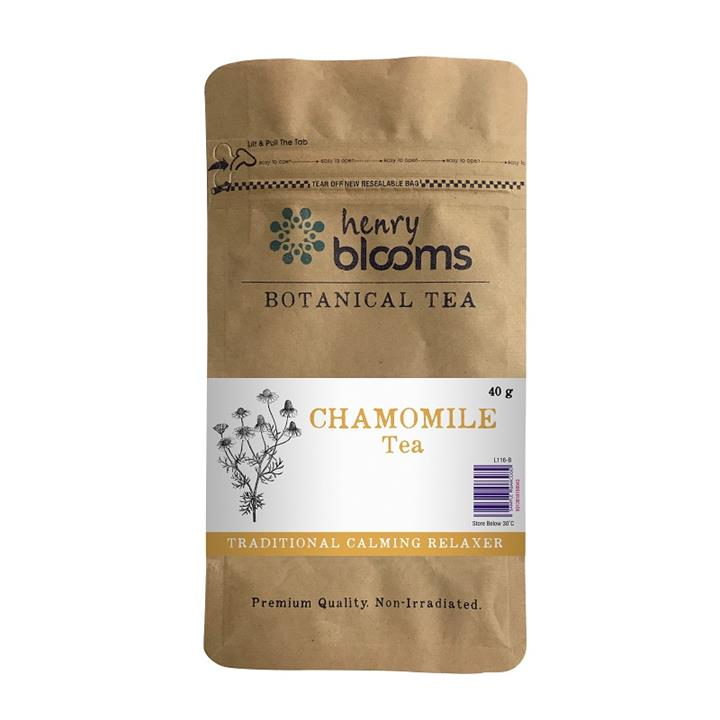 Henry Blooms Botanical Tea Chamomile Tea 40g
