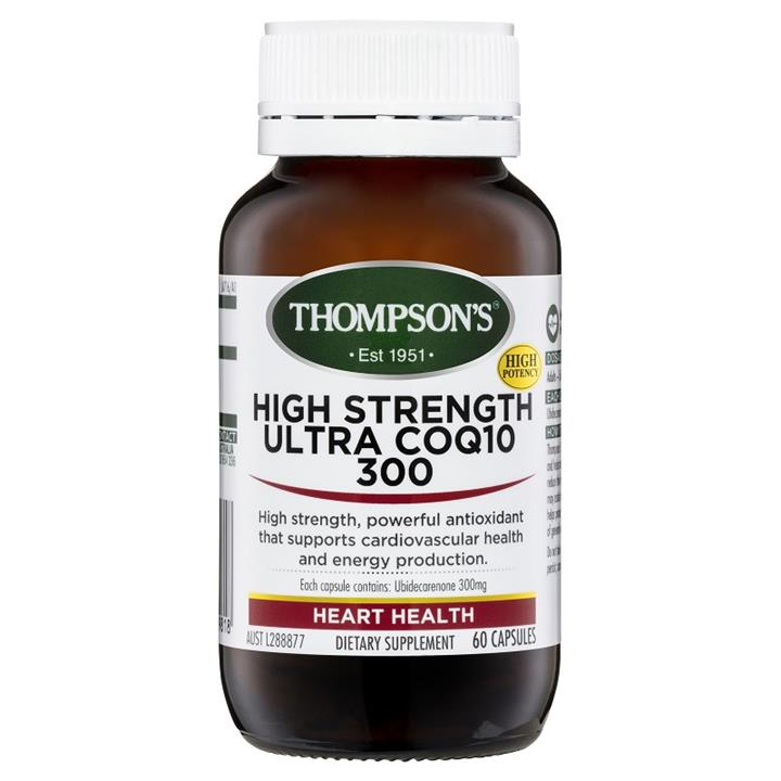 Thompson's High Strength Ultra CoQ10 300mg Cap X 60