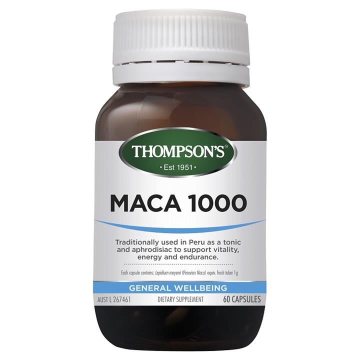 Thompson's Maca 1000mg Cap X 60