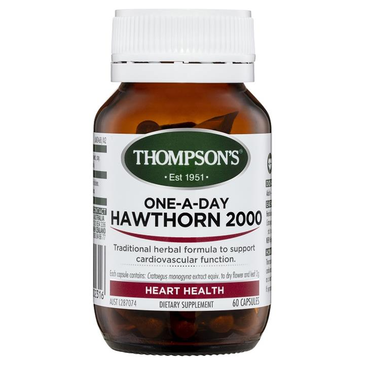 Thompson's One-A-Day Hawthorn 2000mg Cap X 60