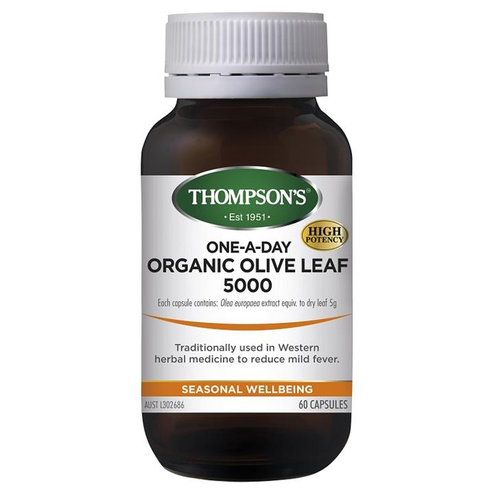 Thompson's One-A-Day Olive Leaf 5000mg Cap X 60
