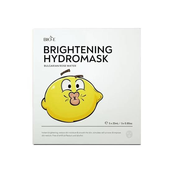 Bio-E Brightening Hydromask (Bulgarian Rose Water) X 5