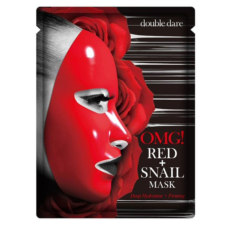 Double Dare OMG! Red + Snail Facial Mask