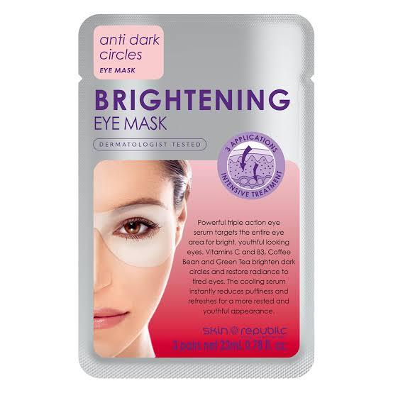 Skin Republic Brightening Eye Mask (3 Pairs)