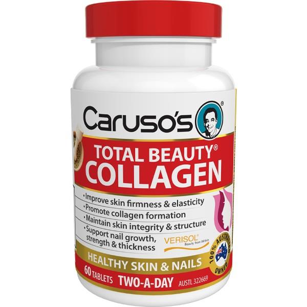 Caruso's Total Beauty Collagen Tab X 60
