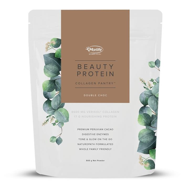 Morlife Collagen Pantry Beauty Protein Double Choc 500g