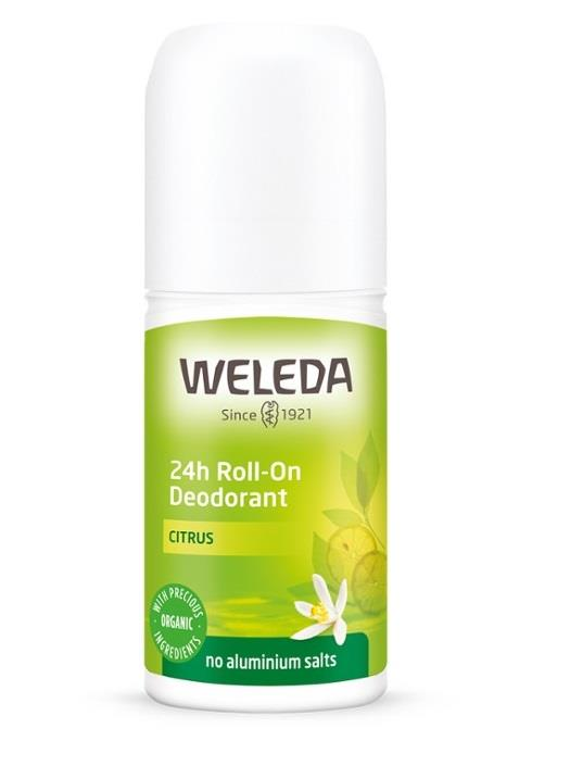 Weleda 24h Roll-On Deodorant Citrus 50ml