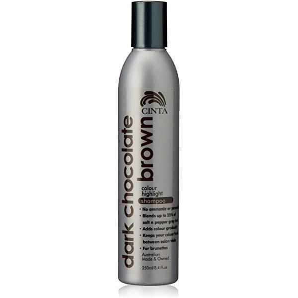 Cinta Colour Highlight Shampoo Dark Chocolate Brown 250ml