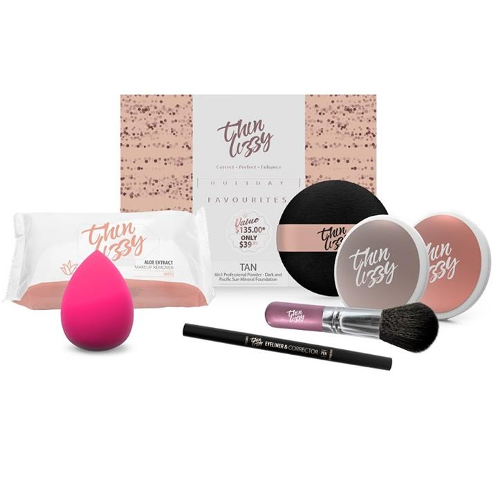 Thin Lizzy Holiday Favourites 7 Piece Gift Set (Tan)