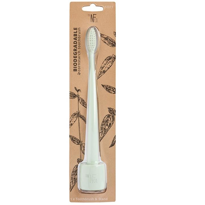 The NFco. Bio Toothbrush with Stand (River Mint)