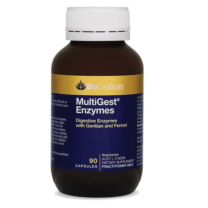 BioCeuticals MultiGest Enzymes Cap X 90