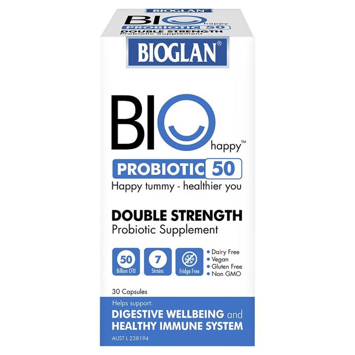 Bioglan Bio Happy Probiotic 50 Billion Cap X 30