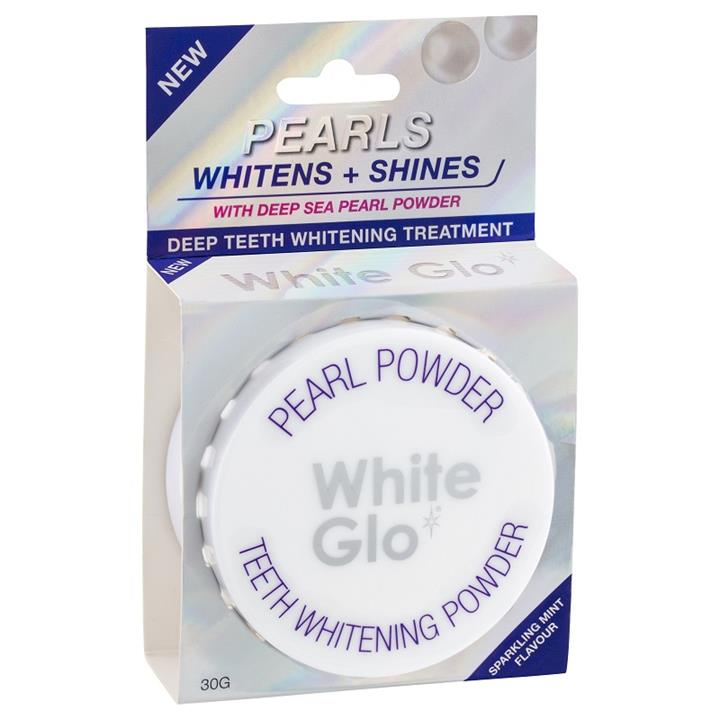 White Glo Pearls Teeth Whitening Powder 30g
