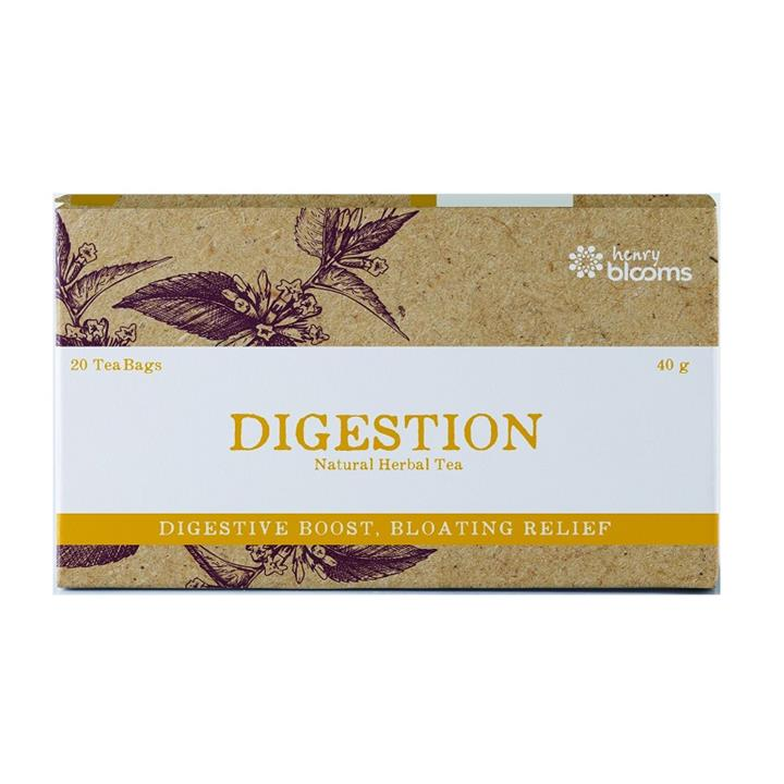 Henry Blooms Digestion Natural Herbal Tea Bags X 20