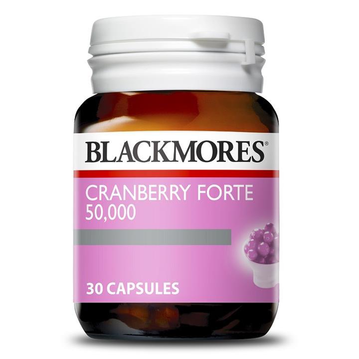 Blackmores Cranberry Forte 50000mg Cap X 30