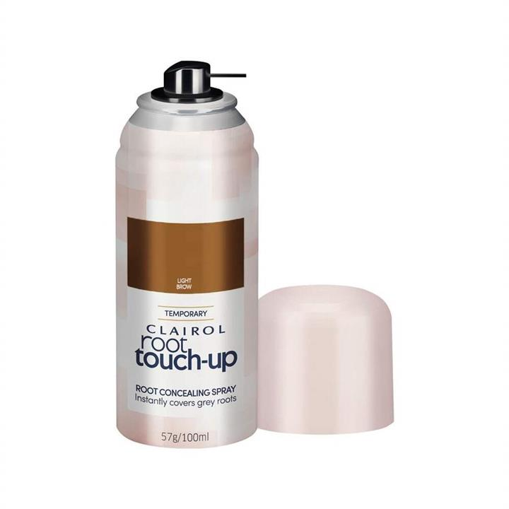 Clairol Root Concealing Spray Temporary Root Touch Up Light Brown 57g