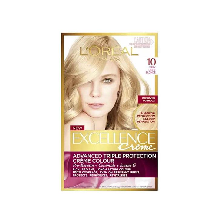 L'Oreal Excellence Creme Hair Colour 10 Very Light Blonde