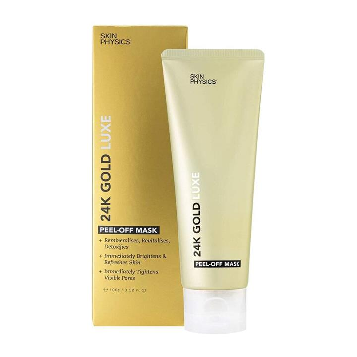 Skin Physics 24K Gold Luxe Peel Off Mask 100g