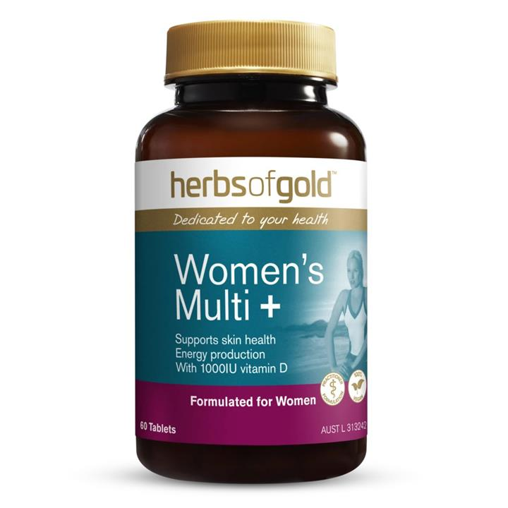 Herbs of Gold Women's Multi + 60 Tablets