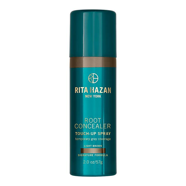 RITA HAZAN Root Concealer Touch-Up Spray for Temporary Gray Coverage Light Brown