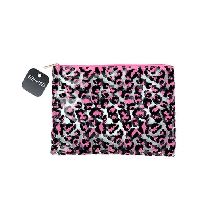 Cosmetic Bag Gone Wild Pink