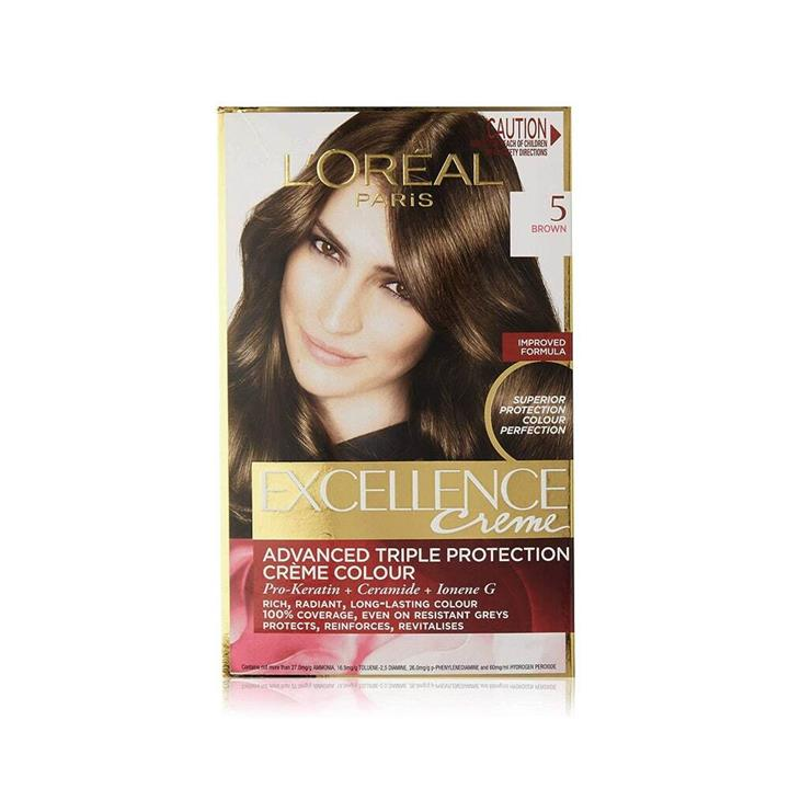 L'Oreal Excellence Creme Hair Colour 5 Brown