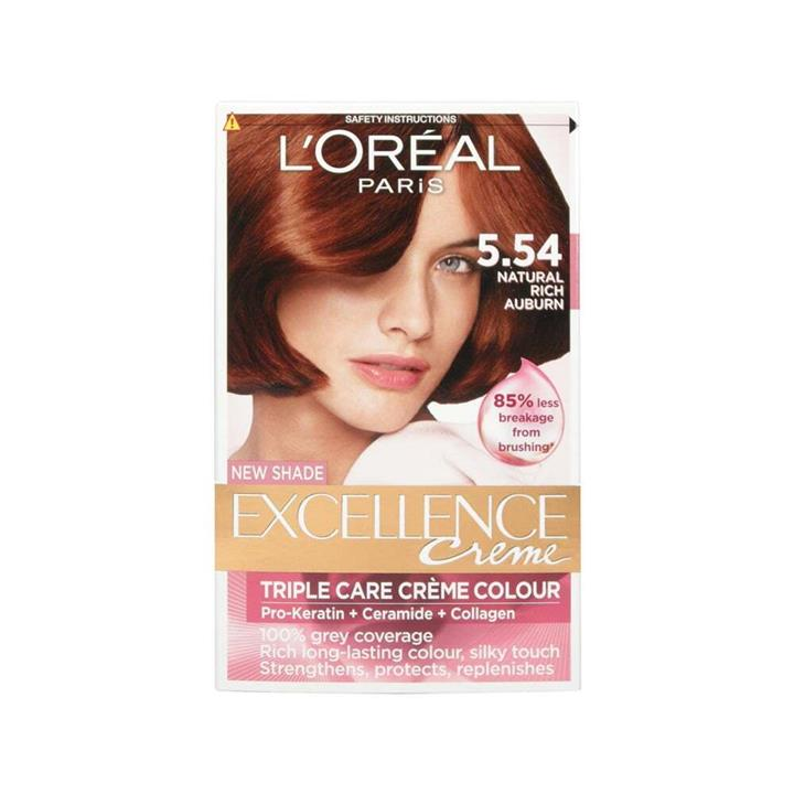 L'Oreal Excellence Creme Hair Colour 5.54 Auburn