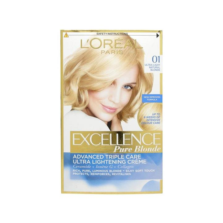 L'Oreal Excellence Creme Hair Colour 01 Very Light Natural Blonde